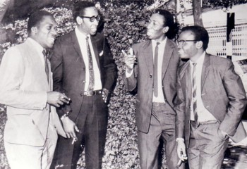 a 1966 picture with some members of the Equator Sounds Band