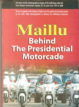 david g maillu's Behind the Presidentia Motorcade