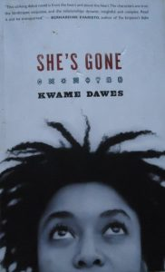 She's Gone is the debut novel by Ghanaian-born Jamaican writer, Kwame Dawes.