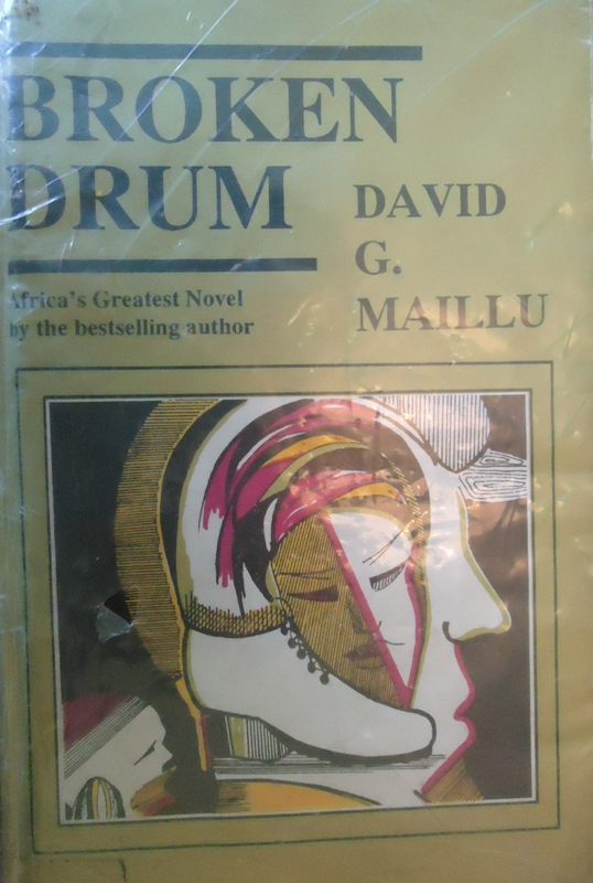 David G Maillu's Broken Drum novel that is 1120 pages long