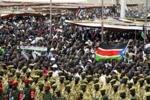 a south sudan independence celebration in juba