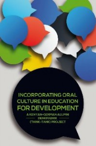 Incorporate Orality in Education for Development