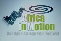 Africa in Motion (AiM) Film Festival of Scotland logo