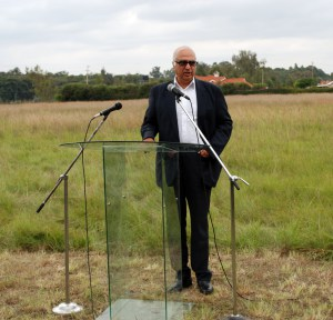 anthony athaide on the land he donated to karen village