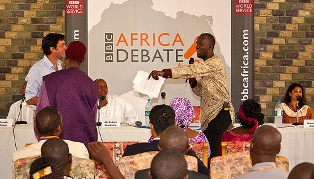 Africa Debate, the flagship current affairs discussion programme of BBC World Service, was recorded and broadcast from Lagos
