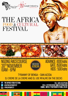 Nairobi's Africa Food and Cultural Festival Attracts 13 Countries