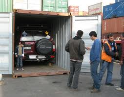 car shipping container
