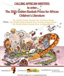 golden baobab prize fro african children's literature 2014