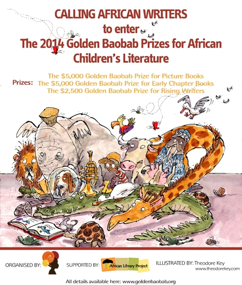 6th Golden Baobab Prizes for African Children's Literature Invites Entries