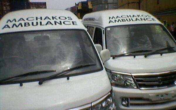 machakos county 70 emergency ambulances