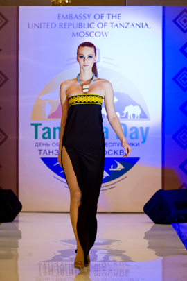 Tanzanian Fashion Designer Launches New Collection in Moscow