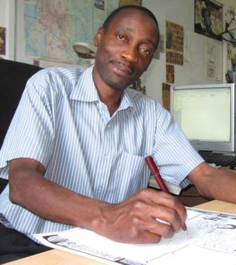 illustrator and cartoonist paul 'maddo' kelemba