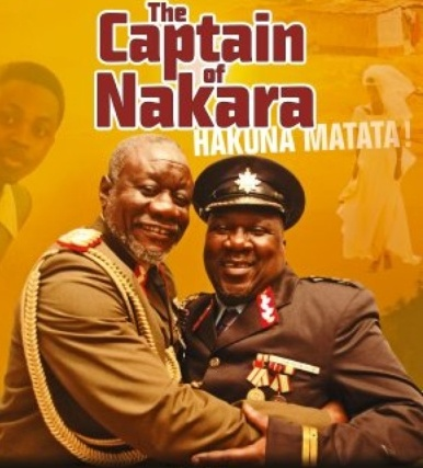 the captain of nakara movie poster