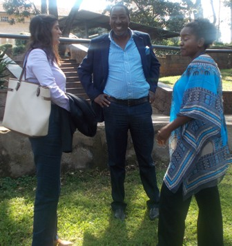 Anouska Athaide of Village Sanctuary, Chege Gitura of Chege Designs, Lydia Galavu of National Museums of Kenya