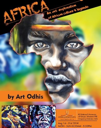 african culture and legends art by Arthur Patrick Odhiambo