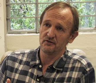 zimbabwean arts activist and promoter Paul Brickhill