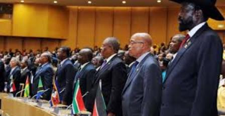 heads of state at african union summit 2012