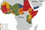 fgm among women aged 15-49 yrs in africa