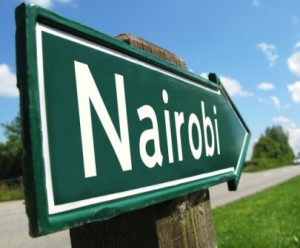 this way to kenya's nairobi
