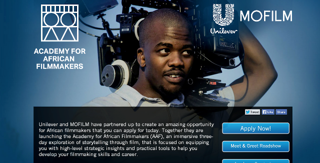 academy for african filmmakers 2014 call for applications