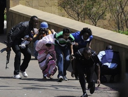 ill equipped policeman to the rescue at nairobi's westgate shopping mall 2013