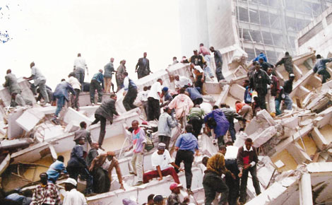 us american embassy nairobi bombing in 1998