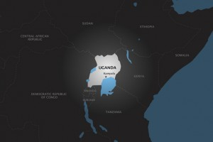 uganda location in eastern Africa