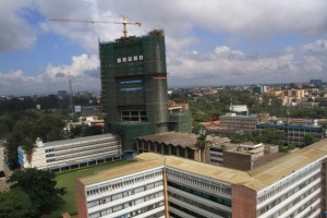 university of nairobi'smain campus from the air