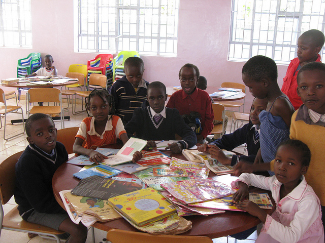 British Literary Charity Develops Children's Corners in Libraries in Malawi