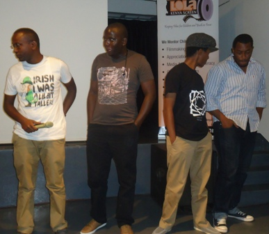 my faith crew at 83rd lola kenya screen film forum, goethe-institut,nairobi