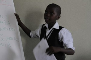 Tanzanian Derek Ngarapi, 10, trains in cinematography at Kenya's Lola Kenya Screen