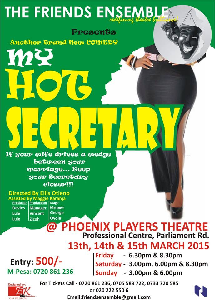 Nairobi Presents 'My Hot Secretary' Drama, Rabat Invites Artists for 'Visa For Music' Festival