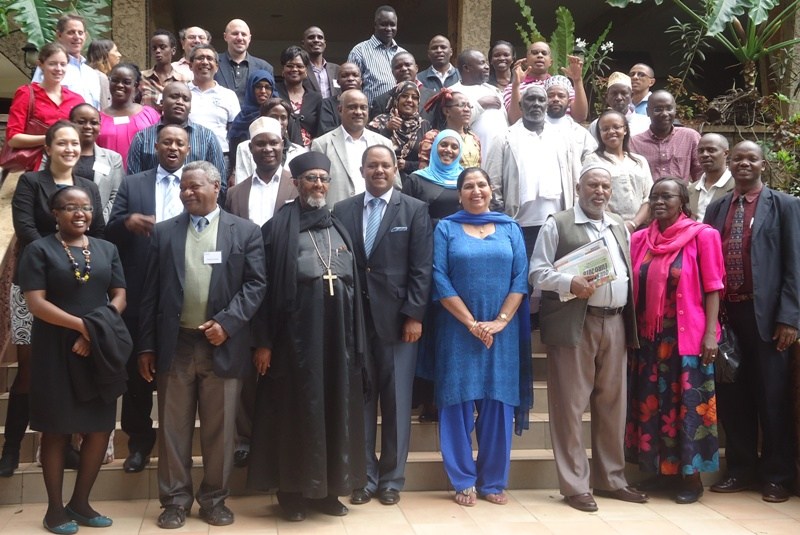eastern african interfaith leaders train in media education in nairobi, kenya, nov 2014