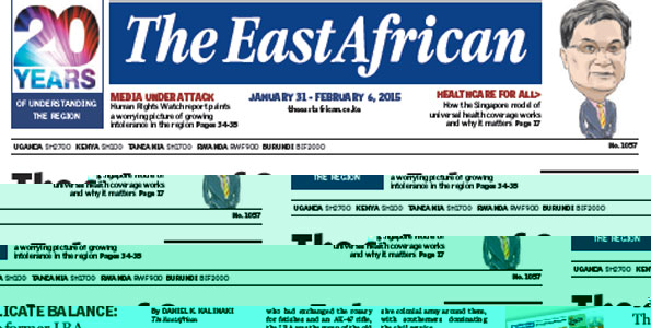 the eastafrican was banned in tz after 20 years of circulation