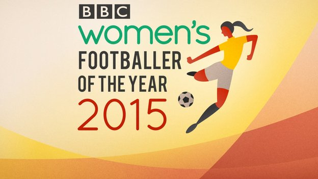 bbc women's footballer of the year award 2015