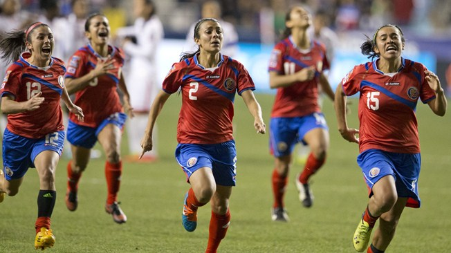 costa ricans at the fifa women's world cup 2015