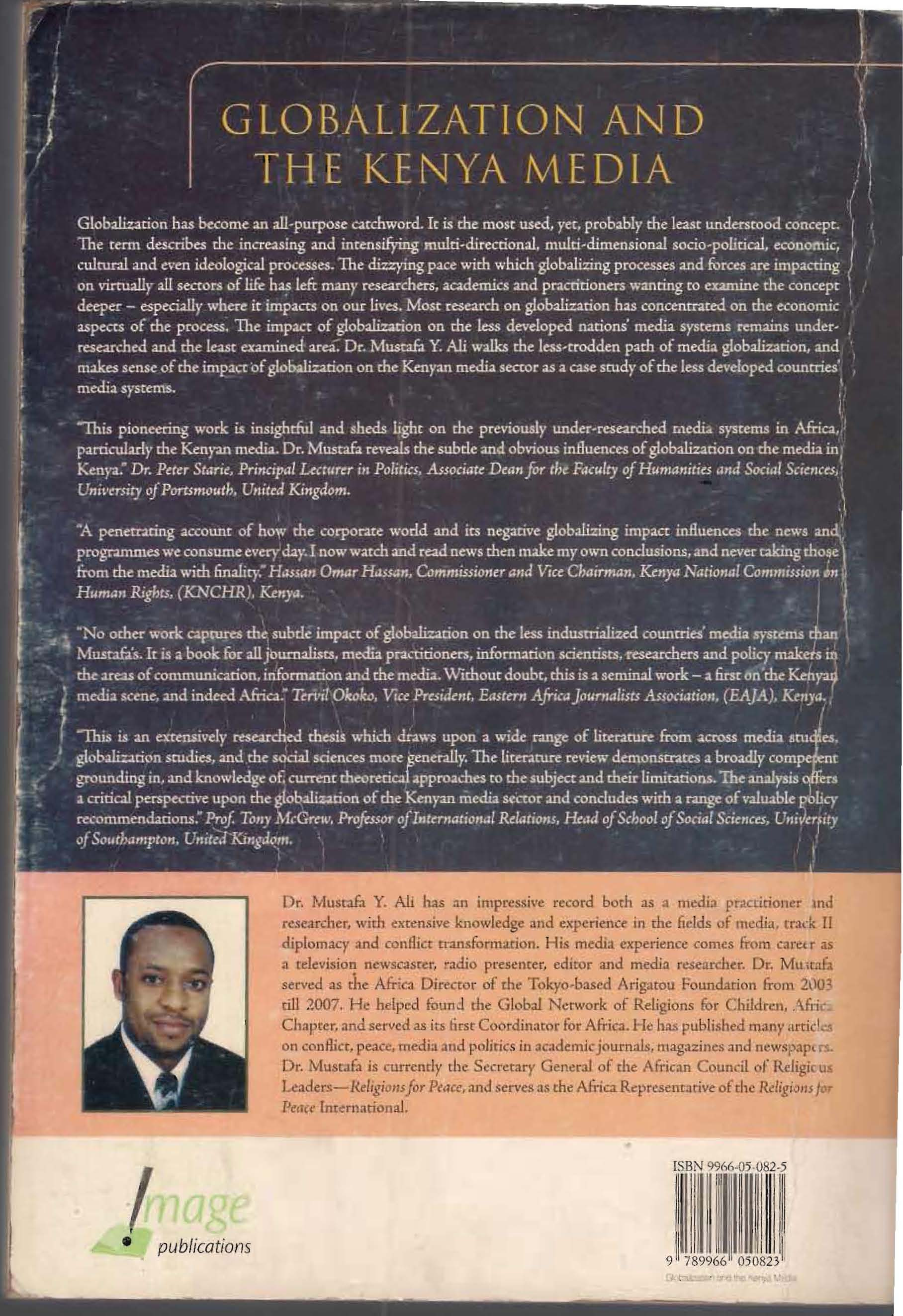 Globalization & the Kenya Media outside back cover