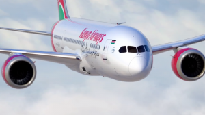 kenya airways passenger aircraft