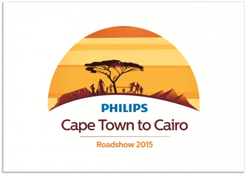 Philips' Cape Town to Cairo Road Show