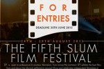 5th slum film festival call for entries