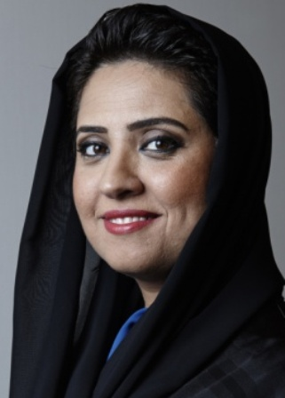 Laila Ali Hareb Al Muhairi, Assistant Director General for Strategy and International Affairs, of the UAE's civil aviation authority (GCAA)