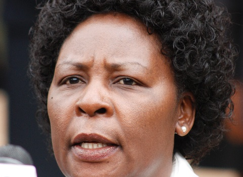Nancy Baraza, removed Deputy Chief Justice