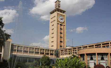 Kenya's Parliament buildings in Nairobi