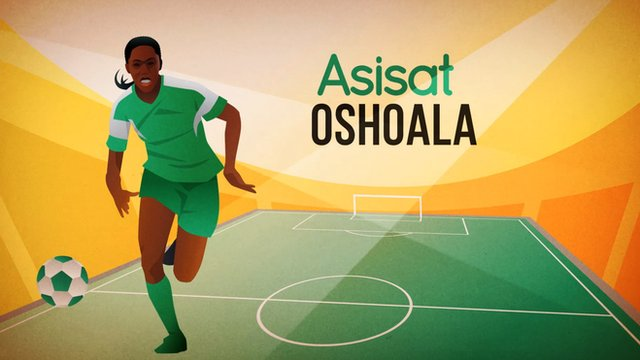 Asisat Lamina Oshoala Nominated for BBC Women's Footballer of the Year Award 2015