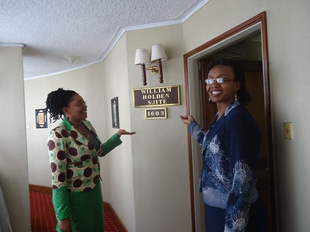 Nairobi Safari Club's William Holden Suite that hosted Lola Kenya Screen 2014 events