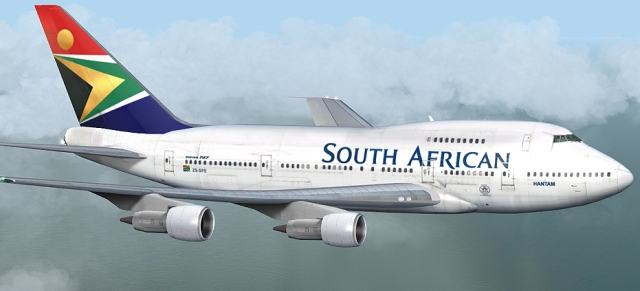 South African Airways passenger plane