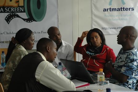 Participants at 4th Lola Kenya Screen crafting Eastern Africa Independent Television and Audiovisual Media Practitioners Plan of Action