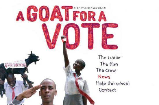 a goat for a vote film by Jeroen van Velzen