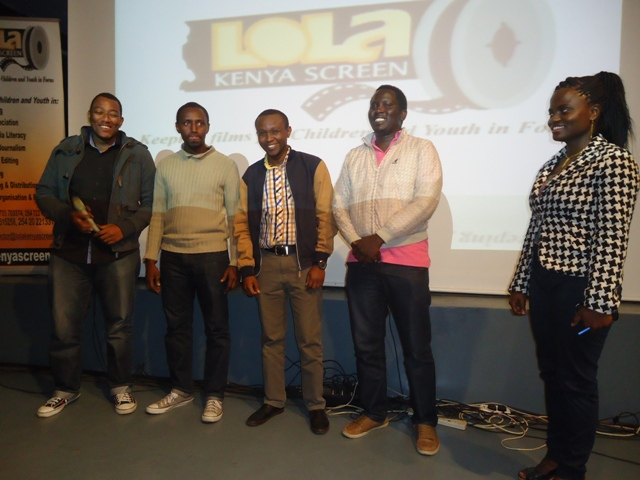 kibanda pictures crew at 88th Lola Kenya Screen film forum