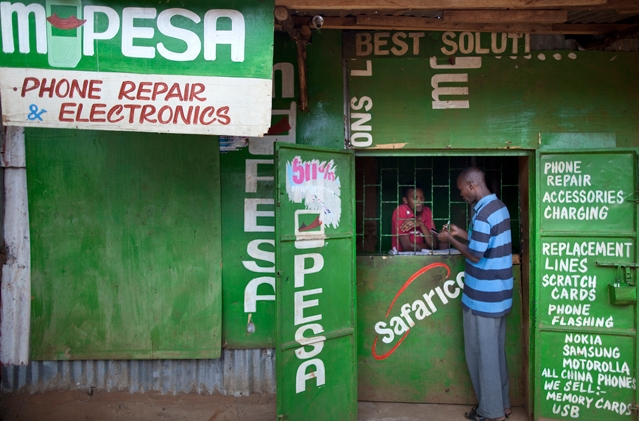 safaricom's M-Pesa Mobile-Phone Money Transfer